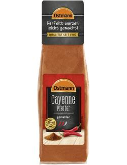 Ostmann Cayenne-Pfeffer gemahlen  (40 g) - 4002674051506