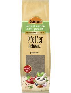 Ostmann Pfeffer schwarz gemahlen  (100 g) - 4002674074673