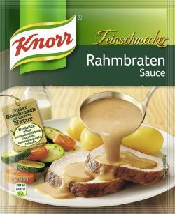 Knorr Feinschmecker Rahmbraten Sauce  (250 ml) - 4038700114099