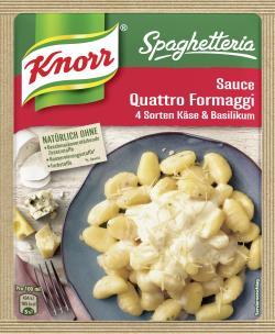 Knorr Spaghetteria Sauce Quattro Formaggi  (250 ml) - 4038700114020