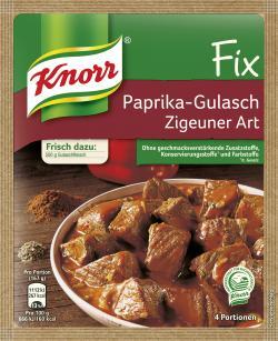 Knorr Fix Paprika-Gulasch Zigeuner Art  (52 g) - 4000400145468