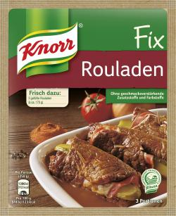 Knorr Fix Rouladen  (34 g) - 8718114824529