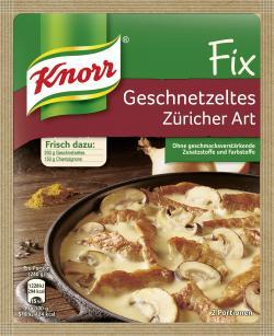 Knorr Fix Geschnetzeltes Z�richer Art  (41 g) - 4038700101358