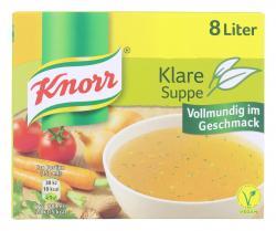 Knorr Klare Suppe mit Suppengr�n  (8 l) - 4000400141460