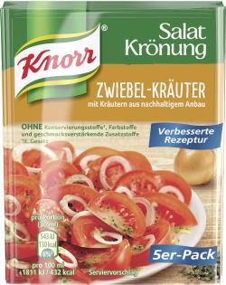 Knorr Salatkrönung Zwiebel-Kräuter  - 4038700119377