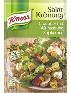 Knorr Salatkr�nung Croutinos mit Walnuss und Sojakernen  (25 g) - 4038700119704