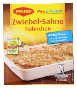 Maggi fix & frisch Zwiebel-Sahne-H�hnchen  (30 g) - 7613030720089
