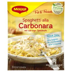 Maggi fix & frisch Spaghetti alla Carbonara  (34 g) - 7613030711414