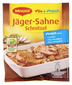 Maggi fix & frisch Jäger-Sahne Schnitzel  (27 g) - 7613030701545
