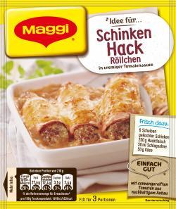 Maggi fix & frisch Schinken-Hack Röllchen  (31 g) - 7613030717836