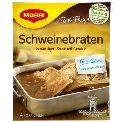 Maggi fix & frisch Schweinebraten  (36 g) - 7613030694212
