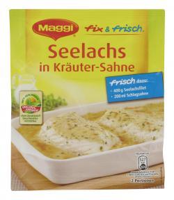 Maggi fix & frisch Seelachs in Kräuter-Sahne  (37 g) - 7613030694113