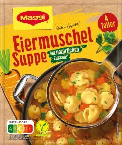 Maggi Guten Appetit Eiermuschel-Suppe  - 4005500323631