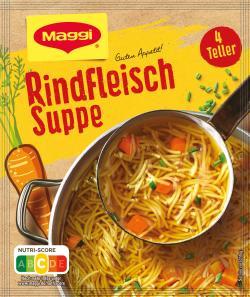 Maggi Guten Appetit Rindfleisch Suppe  - 4005500323235