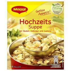 Maggi Guten Appetit Hochzeits Suppe  - 4005500042549
