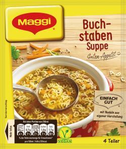 Maggi Guten Appetit Buchstaben Suppe  - 4005500048923