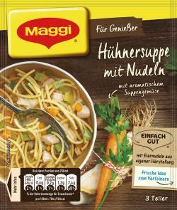 Maggi F�r Genie�er H�hnersuppe mit Nudeln  - 4005500069034