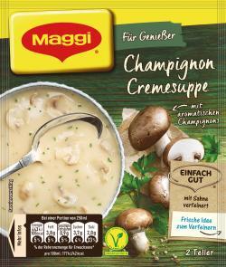 Maggi F�r Genie�er Champignon-Creme Suppe  - 4005500069003