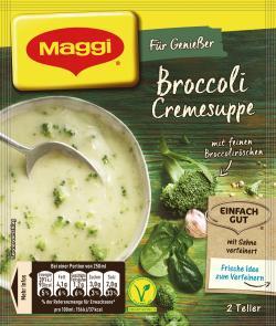 Maggi F�r Genie�er Broccoli Cremesuppe  - 4005500069027