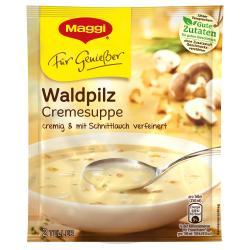 Maggi Für Genießer Waldpilz Cremesuppe  - 7613030612902