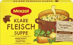 Maggi Klare Fleisch-Suppe  (8 x 1 l) - 4005500307402