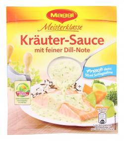Maggi Meisterklasse Kräuter-Sauce mit feiner Dill-Note 2,70 EUR/100 g 141626