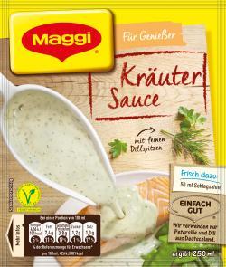 Maggi Für Genießer Kräuter-Sauce mit feinem Dill & Petersilie  (27 g) - 4005500054849