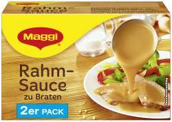 Maggi Delikatess Rahmsauce zu Braten  (2 x 0,25 l) - 4005500311515