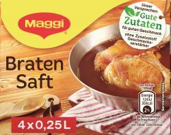 Maggi Bratensaft  (4 x 0,25 l) - 4005500021629