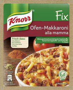 Knorr Fix Ofen-Makkaroni alla mamma  (52 g) - 4000400138293