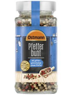 Ostmann Bunter Pfeffer mit gefriergetrocknetem grünen Pfeffer  (160 g) - 4002674195217