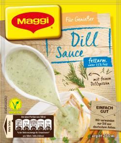 Maggi Meisterklasse Dill-Sauce fettarm 3,30 EUR/100 g 544647