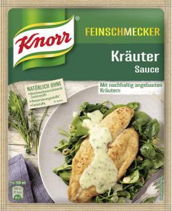 Knorr Feinschmecker Kräuter Sauce  (250 ml) - 4000400147547