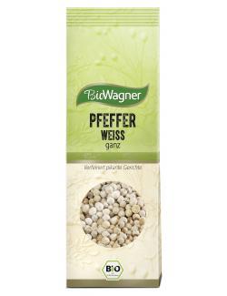 BioWagner Pfeffer weiß ganz  (80 g) - 4001639103595