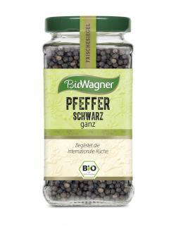 BioWagner Pfeffer schwarz ganz  (65 g) - 4001639101652