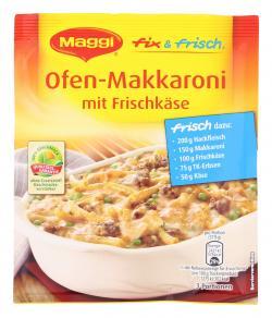 Maggi fix & frisch Ofen-Makkaroni mit Frischk�se  (40 g) - 7613032465629