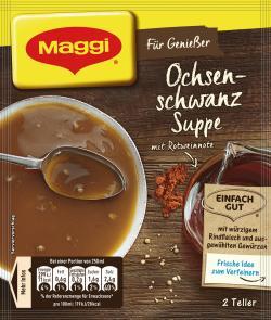 Maggi Für Genießer Ochsenschwanz Suppe  - 7613032381257