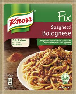Knorr Fix Spaghetti Bolognese  (42 g) - 4038700101273