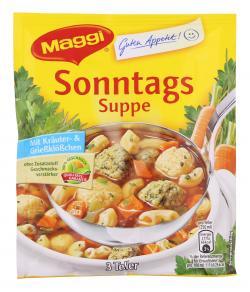 Maggi Guten Appetit Sonntags-Suppe  - 7613031483402