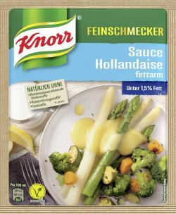 Knorr Feinschmecker Hollandaise Sauce fettarm  (250 ml) - 4000400123282