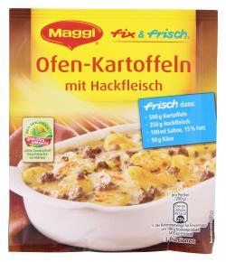 Maggi fix & frisch Ofen-Kartoffeln mit Hackfleisch  (38 g) - 7613031586967