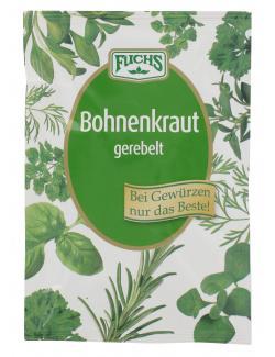 Fuchs Bohnenkraut gerebelt  (10 g) - 4027900281304