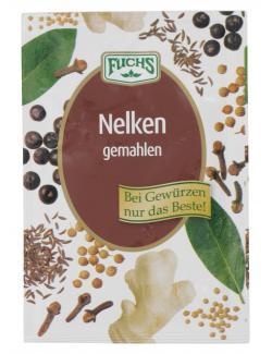 Fuchs Nelken gemahlen  (10 g) - 4027900283926