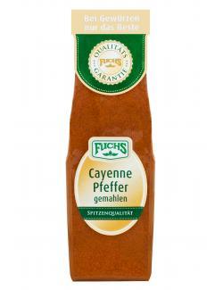 Fuchs Cayenne Pfeffer gemahlen  (60 g) - 4027900241506
