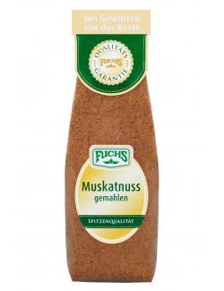 Fuchs Muskatnuss gemahlen  (80 g) - 4027900243821