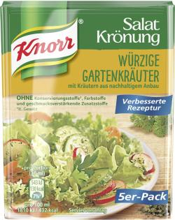 Knorr Salatkrönung Würzige Gartenkräuter  - 4038700119445
