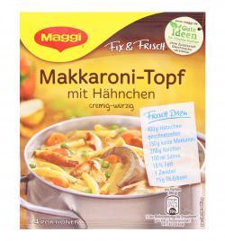 Maggi fix & frisch Makkaroni-Topf mit H�hnchen  (42 g) - 7613033386541