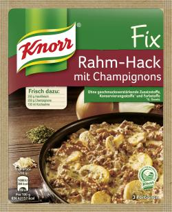 Knorr Fix Rahm-Hack mit Champignons  (46 g) - 8712566302314