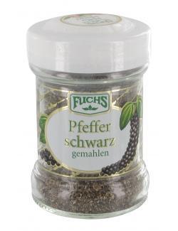 Fuchs Pfeffer schwarz gemahlen  (50 g) - 4027900254674