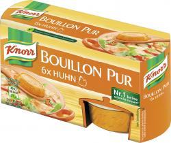 Knorr Bouillon Pur Huhn  (6 x 0,50 l) - 8712566361496